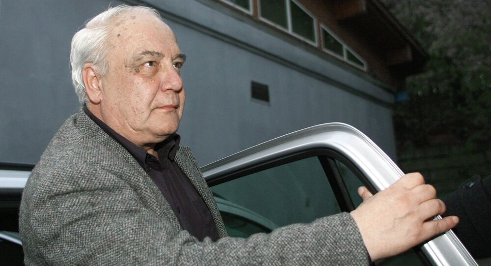 Former Russian dissident Vladimir Bukovsky