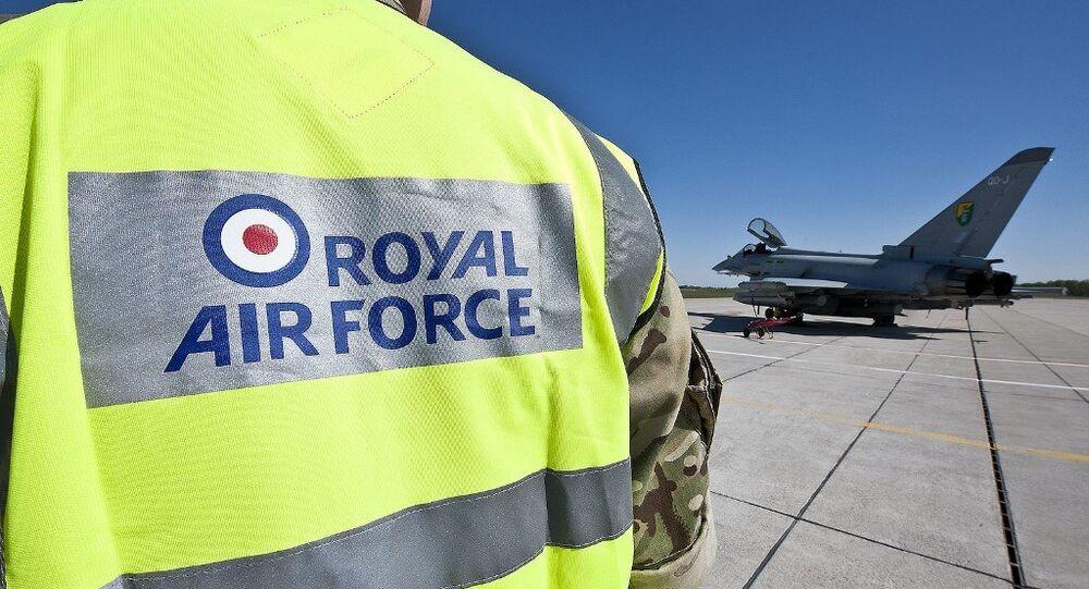 Royal Air Force Typhoon FGR4 aircraft