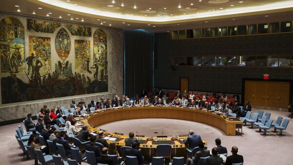 Members of the United Nations Security Council - Sputnik International