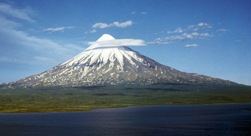 Kronotskaya Sopka on the Kamchatka Peninsula
