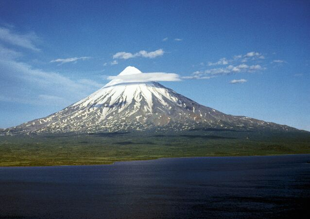 Kronotskaya Sopka on the Kamchatka Peninsula