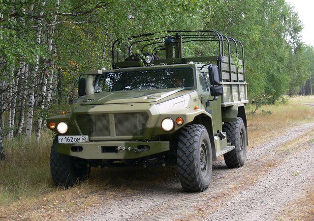 Volk II (Wolf II) VPK-3927 modular protected vehicle