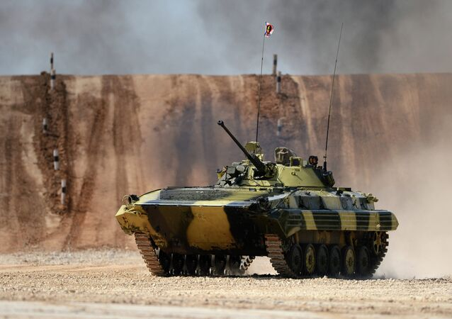 The Suvorov Onslaught competition of BMP-2 infantry combat vehicles. Day Two