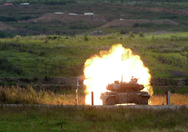 Alabino military training 2015