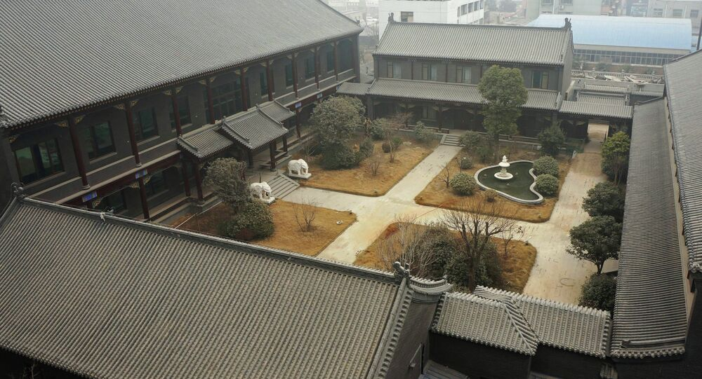 This picture taken on January 17, 2014 shows former general Gu Junshan's Henan residence in Puyang, central China's Henan province