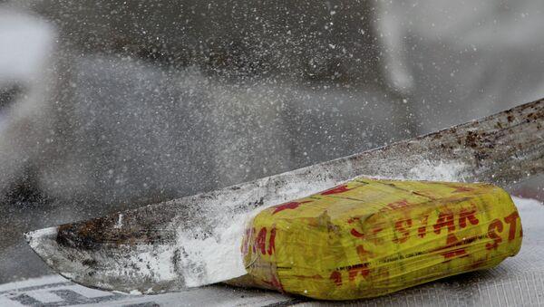 Package of cocaine - Sputnik International