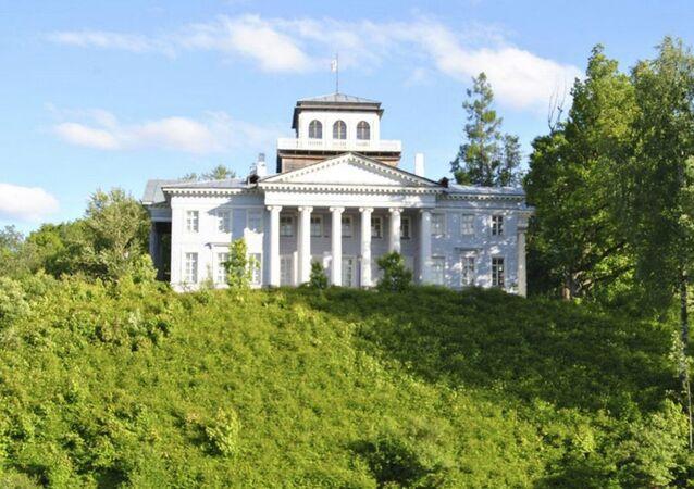 Nabokov family estate in the village of Rozhdestveno