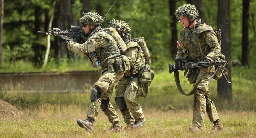 Danish army training
