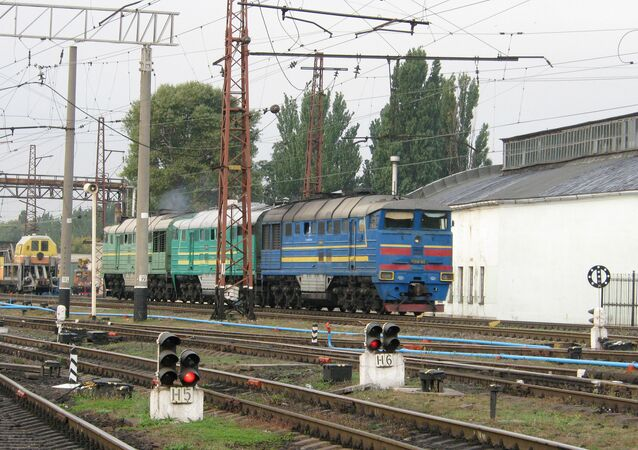 The Transport Ministry of the self-proclaimed Donetsk People's Republic has prepared the local railway network for a link-up with Russia's railway network, and negotiations are now underway on the resumption of rail traffic across the Russian border, DPR First Deputy Transport Minister Vladimir Kabatsy told the Donetsk News Agency on Tuesday.