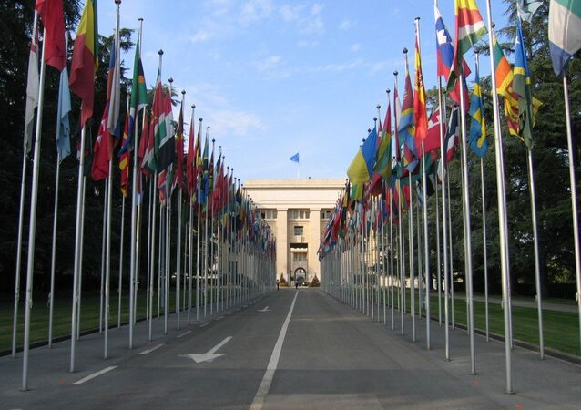 UN headquarters in Geneva