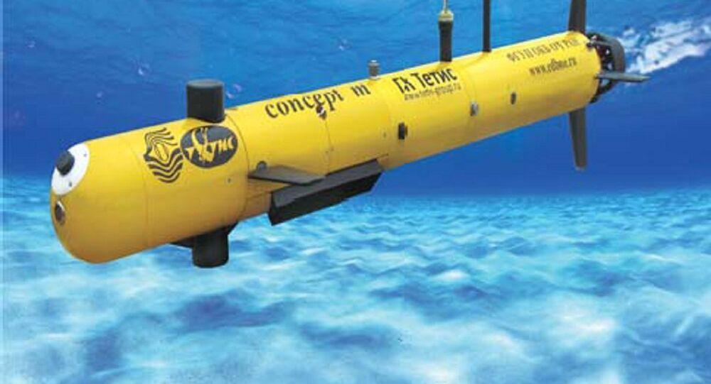 CONCEPT-M Autonomous Unmanned Underwater Vehicle