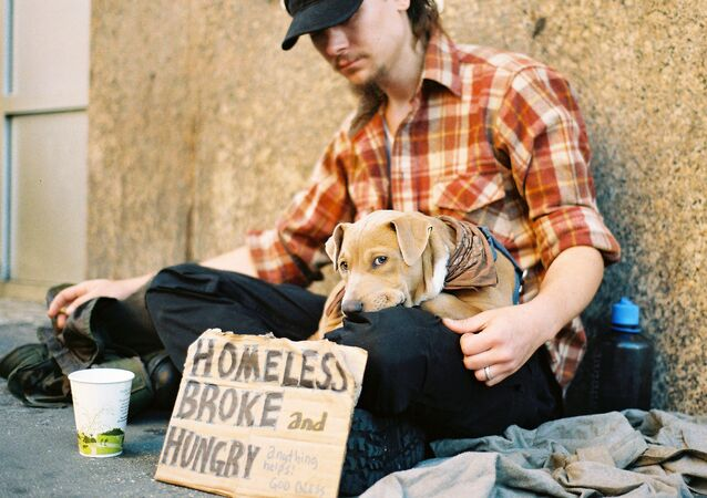 Homeless, Broke, and Hungry in Manhattan, New York