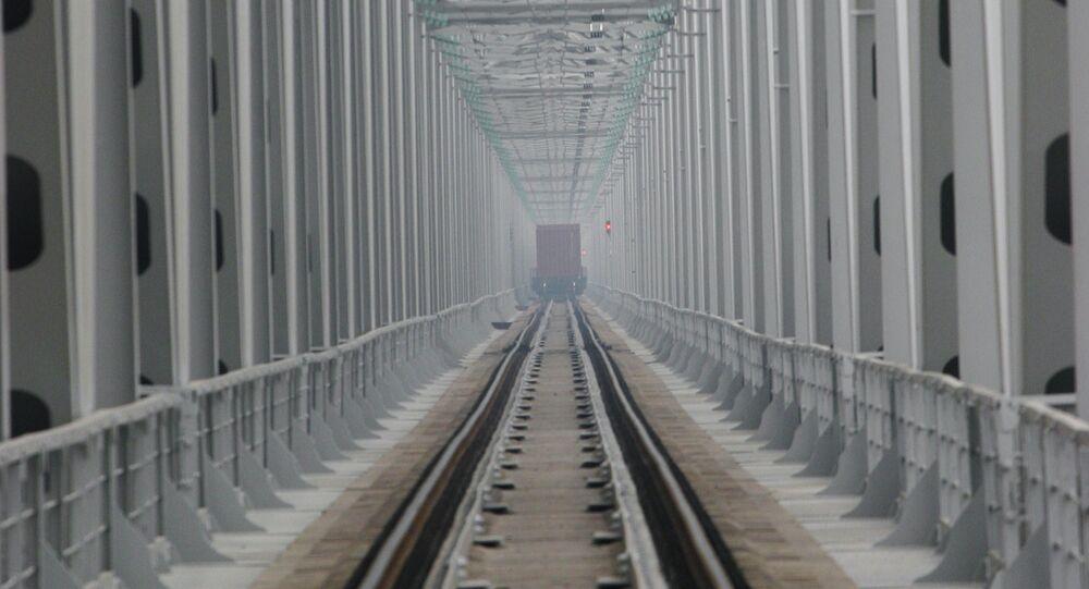 Phase 2 of railway bridge over Amur commissioned in Khabarovsk