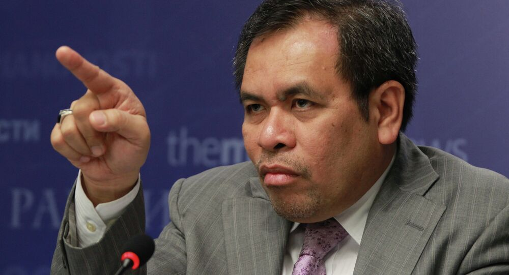 Indonesian ambassador to Russia gives news conference