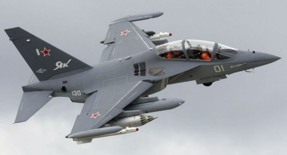 Russian-made Yak-130 trainer/strike aircraft