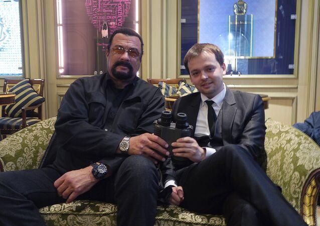 Steven Seagal and Dmitry Mikhailov
