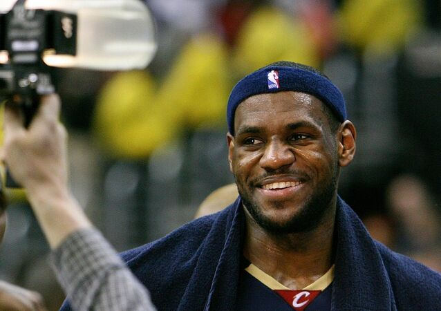 LeBron James.