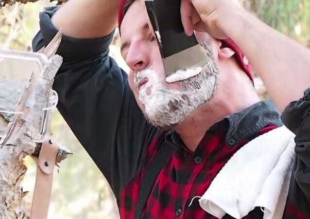 Shaving With An Axe