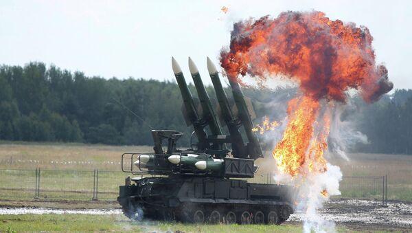 The Buk missile system - Sputnik International