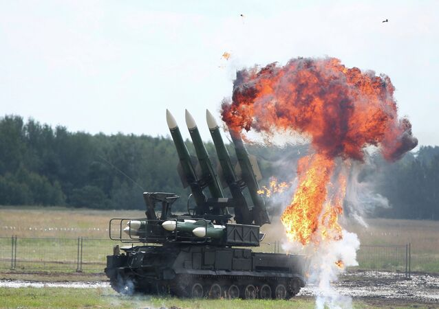 The Buk missile system