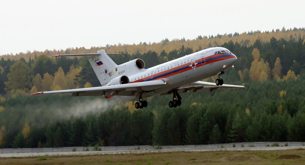 Yak-42 of Russian Emergency Ministry