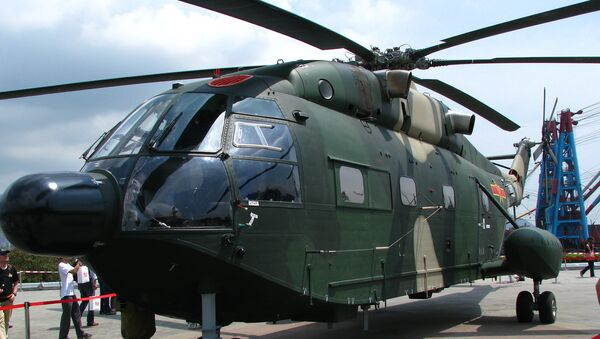 A Z-8KH helicopter of People's Liberation Army Air Force - Sputnik International