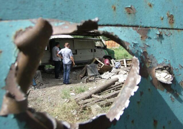 Shelling of Donetsk