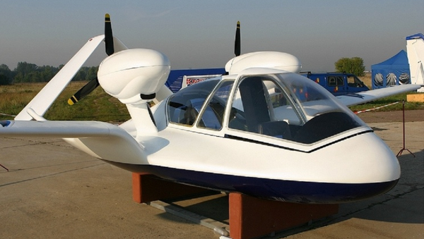 The Chirok, a Russian hybrid amphibious UAV vehicle developed by a subsidiary of state technology corporation Rostec - Sputnik International