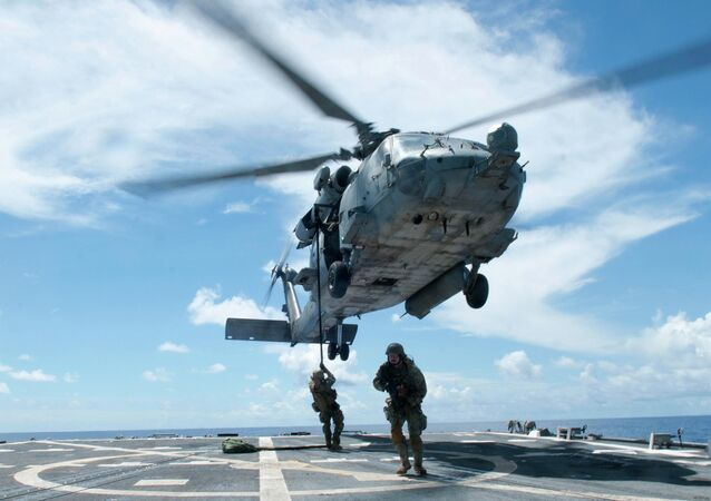 SH-60F Seahawk Helicopter