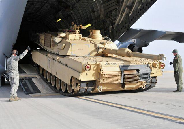 US tank M1 Abrams