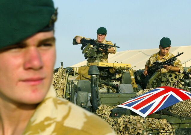 UK army in Iraq