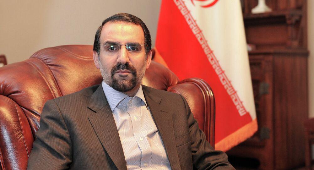 Ambassador of Islamic Republic of Iran to Russia Mehdi Sanaei
