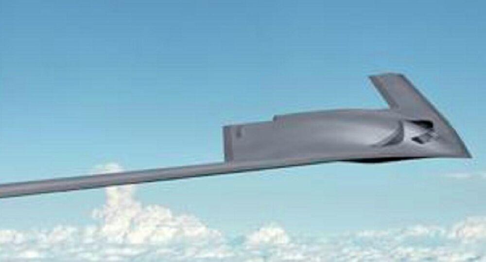 Boeing concept image of the New Generation Bomber & Long Range Strike Bomber