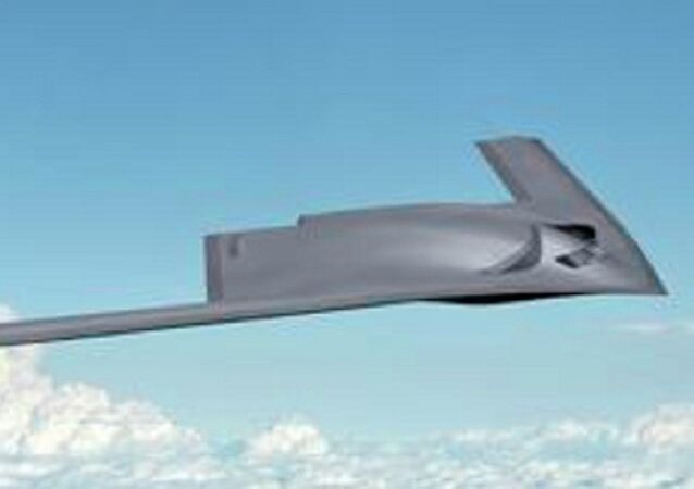 Boeing concept image of the New Generation Bomber & Long Range Strike Bomber