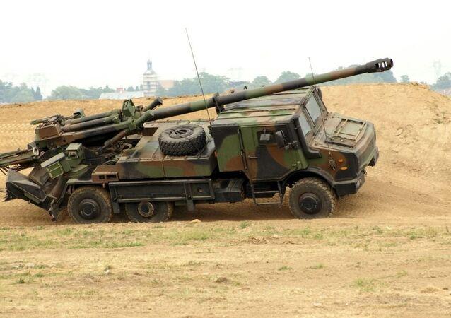 CAESAR self-propelled artillery system