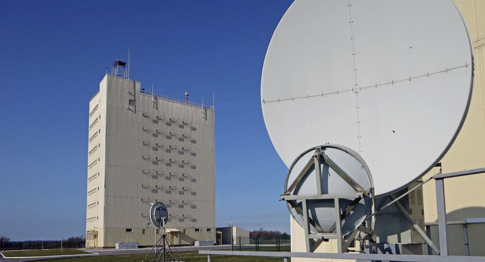 A Voronezh-class radar system in the Kaliningrad region