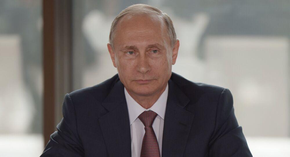Russian President Vladimir Putin's meeting with representatives of national public associations of Crimea