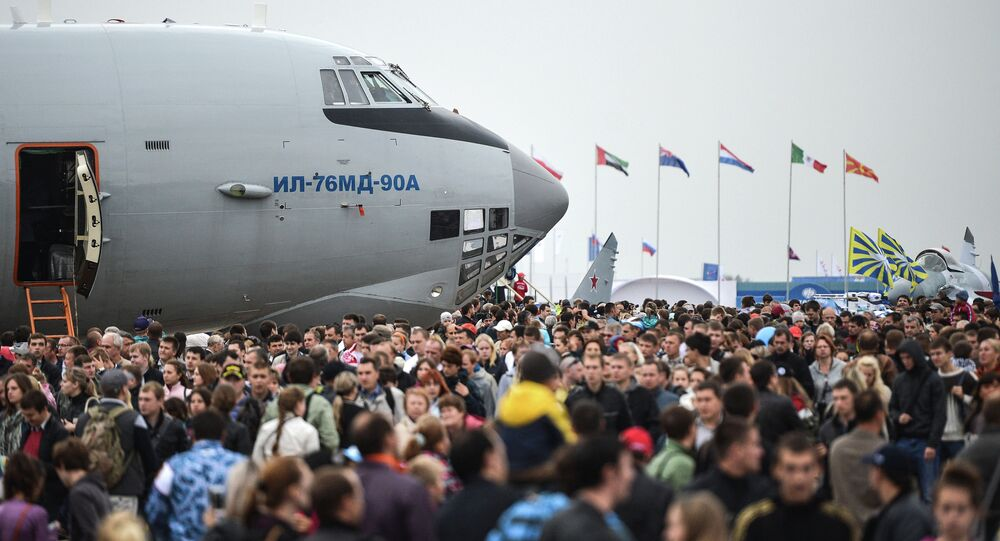 MAKS-2013 Aviation and Space Salon. Day Five. File photo