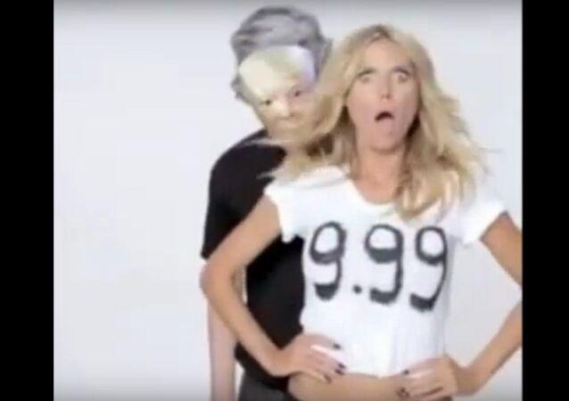Heidi Klum's Response to Donald Trump's Insult