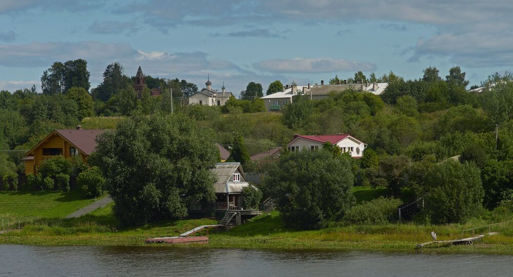 Staraya Ladoga museum and nature reserve in Leningrad Region