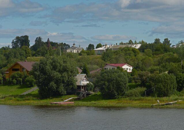 Staraya Ladoga museum and nature reserve in Leningrad Region