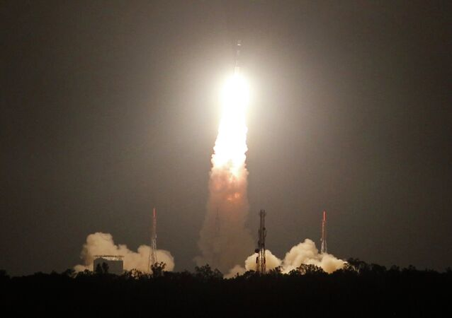 Indian Space Research Organization's (ISRO), Polar Satellite Launch Vehicle lifts off from THE Satish Dhawan Space Centre, Sriharikota, India, Friday, July 10, 2015