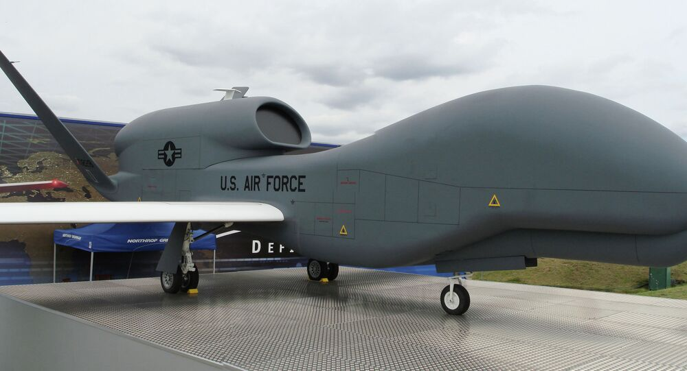 The RQ-4 Global Hawk UAV