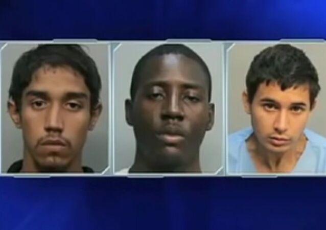 Desiray Strickland, 18, Kaheem Arbelo, 20, Jonathan Lucas, 18, and Christian Colon are accused of killing Jose Amaya Guardado in Florida