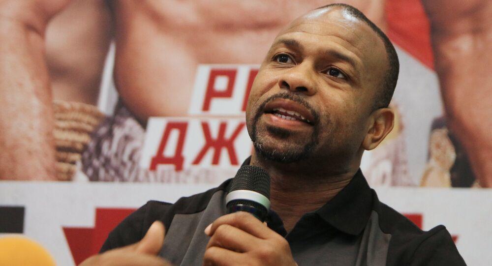 Boxer Roy Jones