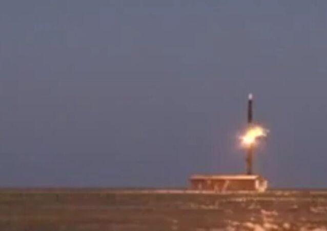 Russia successfully tested ballistic missile PC-12M Topol