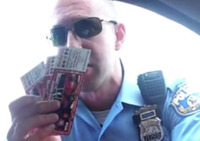 Screenshot of Matthew Zagursky offering a driver to purchase police fundraising tickets instead of having his car impounded