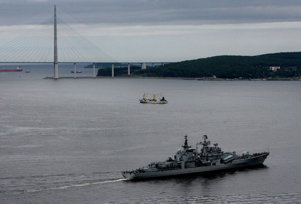 Naval Cooperation for Peace: Chinese-Russian Drills in Far East