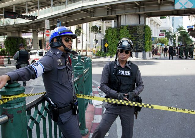 A file photo showing Thailand police