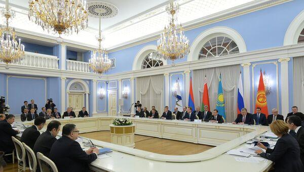 First session of EEU Intergovernmental Council - Sputnik International